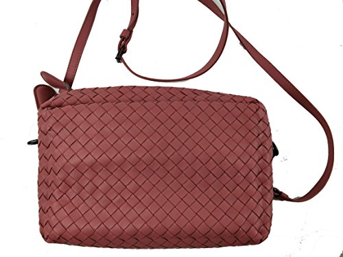 Bottega Veneta Intrecciato Small Camera Messenger