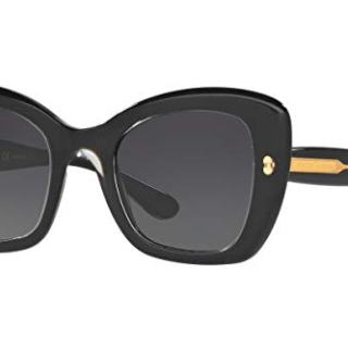 Sunglasses Dolce e Gabbana DG TOP CRYSTAL ON PEARL BLACK