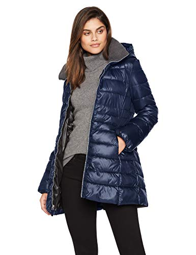 Marc New York by Andrew Marc Women's Windsor, Navy, Extra Large