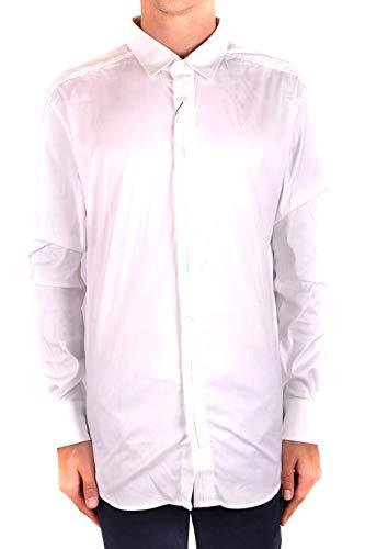 Dolce e Gabbana Men's White Cotton Shirt