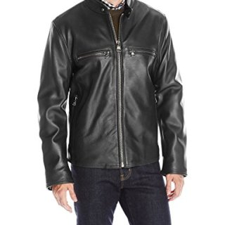 Marc New York by Andrew Marc Men's Bedford Leather Moto