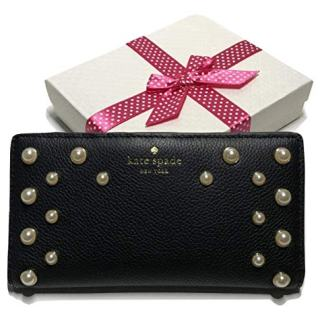 Kate Spade New York Stacy Wallet (Serrano Place Pearl Black)
