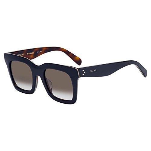 Celine Blue / Beige / Havana Square Sunglasses Lens Category 3