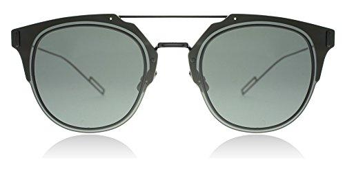 8fe5b533414 Dior Homme Composit 1.0 006 Black Composit Round Sunglasses Lens ...