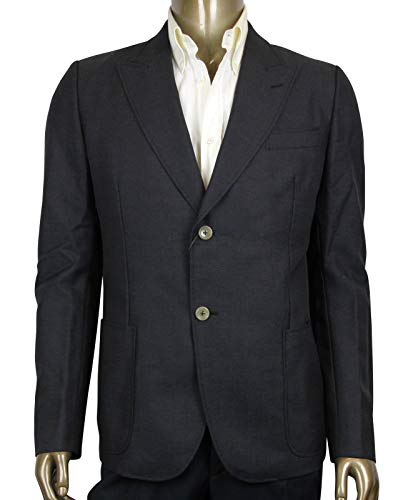 Gucci Panama Dark Grey Wool/Mohair Formal Jacket