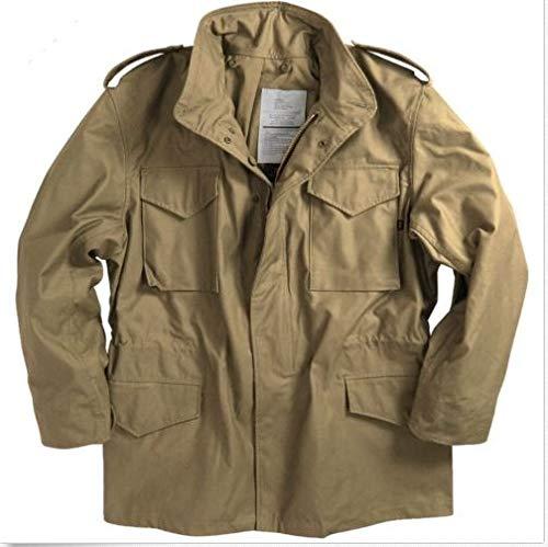 Alpha Industries Men Field Coat Khaki (L)