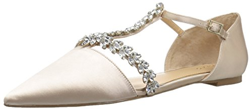 Badgley Mischka Jewel Women's Maury Mary Jane Flat