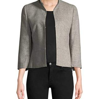 Akris Womens Stand Collar Blazer, 14