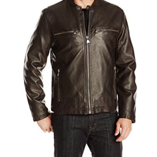 Marc New York by Andrew Marc Men's Lamar Distressed Faux Leather