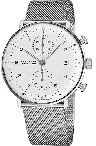 Junghans Max Bill Chronoscope Mens Automatic Chronograph Watch