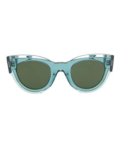 Celine Petrol Petra Cats Eyes Sunglasses Lens Category 3 Size 48m