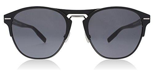Dior Homme Diorchrono 0AM Matte Black Diorchrono Square Sunglasses Lens