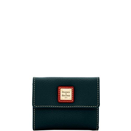 Dooney & Bourke Pebble Grain Small Flap Credit Card Wallet