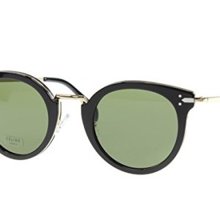 Celine Black Gold Round Sunglasses Lens Category 3 Size 48m