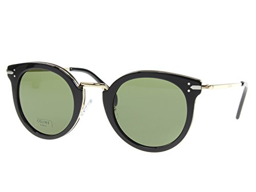 Celine Black Gold Round Sunglasses Lens Category 3 Size 48m