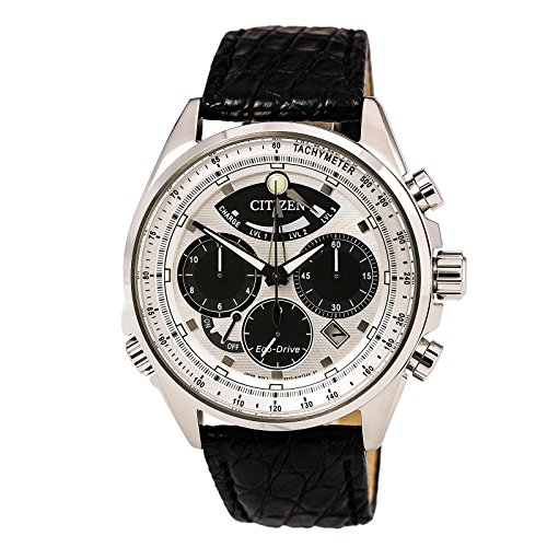 Men's Citizen Eco-Drive Limited Edition Calibre Leather Strap Watch