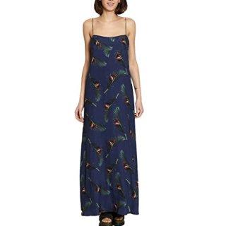 Maxi Dress Summer Collection Women Navy Blue