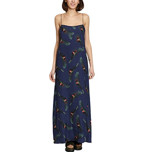 Maxi Dress Summer Collection Women Navy Blue