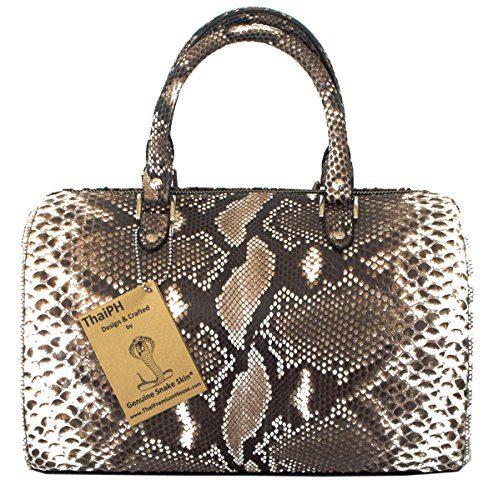 Authentic Snake Skin Women's Python Snake Clutch Bag Purse Handbag