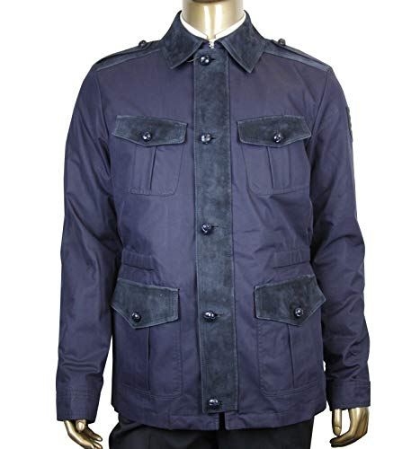 Gucci Men's Washed Gabardine Midnight Blue Cotton/Polyester