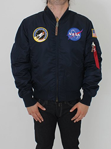 Alpha Industries Bomber Jacket Navy - Navy - L