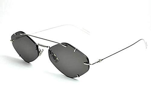 Dior Homme Palladium DIORINCLUSION Oval Sunglasses Lens Categ