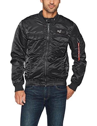 Alpha Industries Men's Weps Mod Jacket, Black, XX-Large