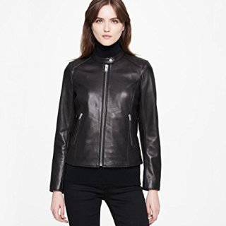 """Marc New York by Andrew Marc Women's Goldie 21"""" Glove Lamb Jacket"""