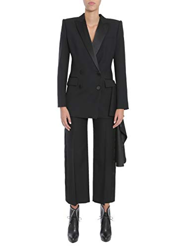 Alexander McQueen Women's Black Wool Blazer