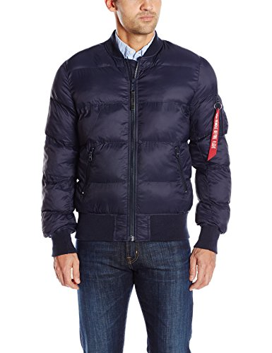 Alpha Industries Men's MA-1 Echo Flight Bomber Jacket