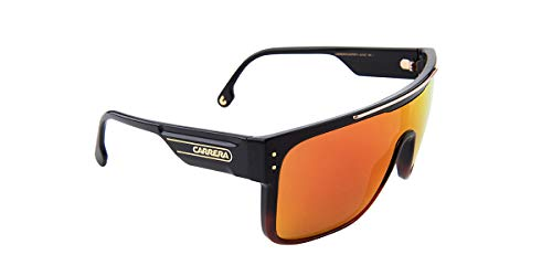 Carrera CA FLAGTOP II Black/RED 99/1/140 Men Sunglasses