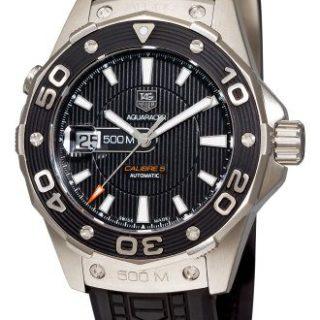 TAG Heuer Men's Aquaracer Calibre 5 Automatic 500M Black