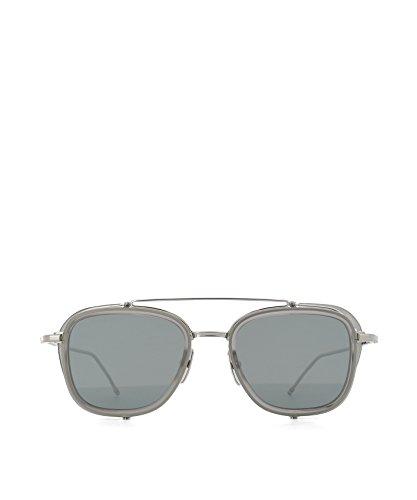 Thom Browne Men's Grey Steel Sunglasses