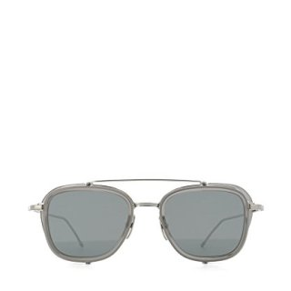 Thom Browne Men's Grey Steel Sunglasses