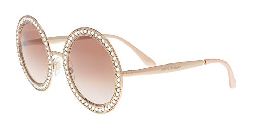 Dolce & Gabbana Women's Round Crystal Sunglasses