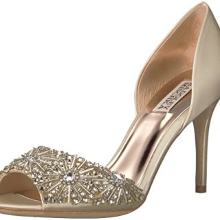 Badgley Mischka Women's Maria Pump, Ivory, 8.5 M US