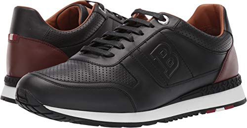 BALLY Men's Asony Sneaker Black 11 D UK