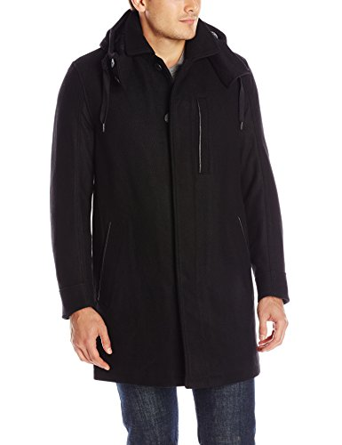 Marc New York by Andrew Marc Men's Boulevard Twill Wool Coat