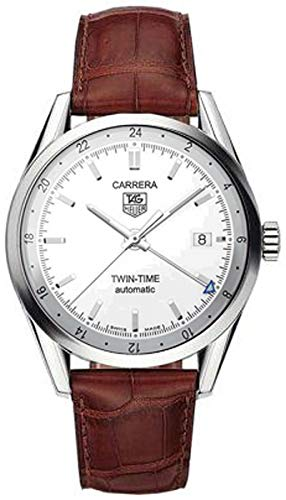 TAG Heuer Men's Carerra Calibre 7 Twin Time Automatic