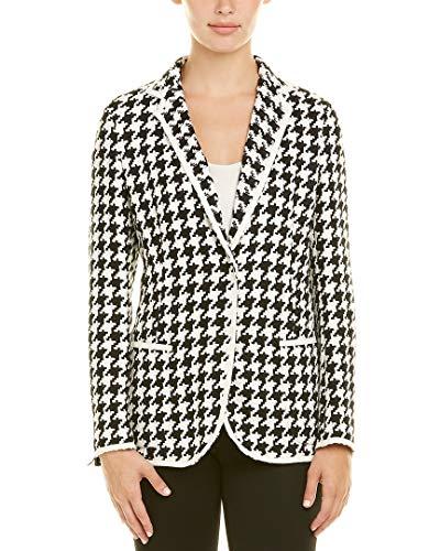 Akris Womens Linen Jacket, 10, White