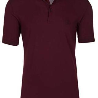 Dolce & Gabbana Men's Burgundy Crown 'Corona' Short Sleeve Polo Shirt