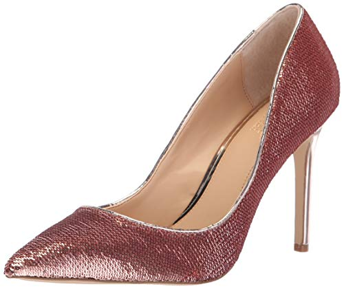 Jewel Badgley Mischka Women's Jade Pump, Rose Gold, 9 M US