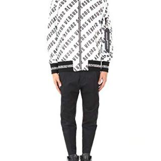 Versus Versace Men's White Polyamide Jacket