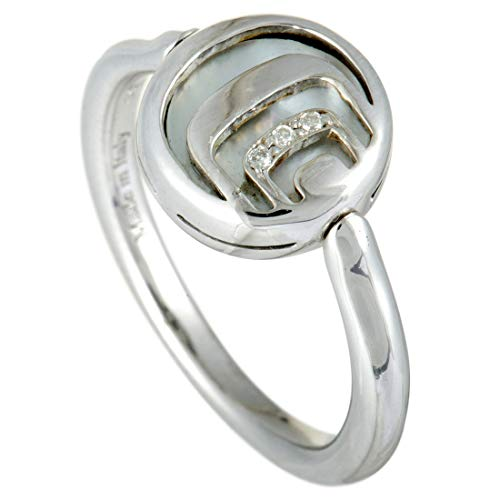 Damiani Damianissima Sterling Silver Diamonds, Mother of Pearl