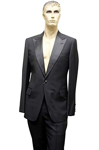 Gucci Tuxedo Black Wool Suits Jacket Trousers
