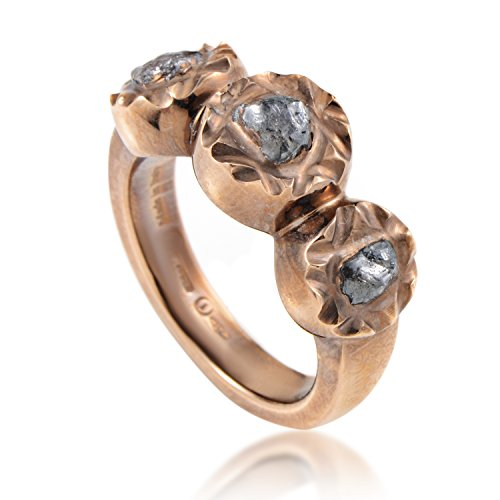 Damiani Maji Sharon Stone 18K Rose Gold Diamond Sharon Stone Ring