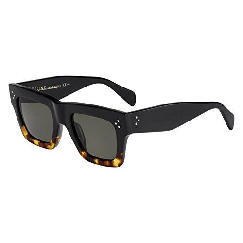 Celine Sunglasses- Black Havana Tortoise -50mm