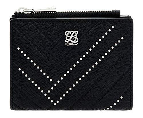 Studd Detail Flap Mini Small Bifold Wallet for Women