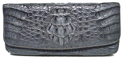 Authentic M Crocodile Skin Womens Genuine Hornback Crocodile