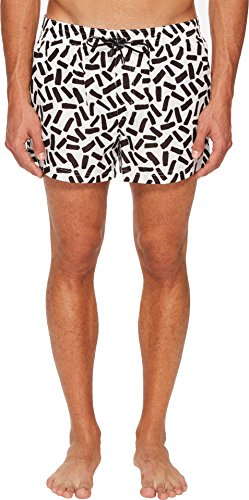 Dolce & Gabbana Men's Abstract Short Boxer Swimsuit
